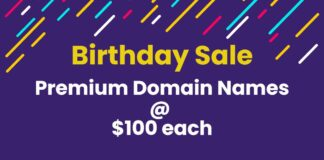 Birthday Domain Names Sale