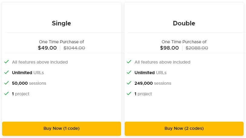 Keyword Hero AppSumo Pricing