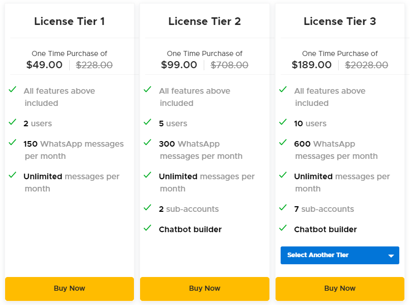 ChayAll AppSumo Pricing